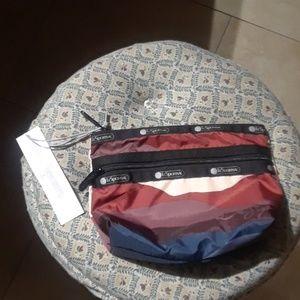 LeSportsac Taylor Small Top Zip Makeup Case Bag